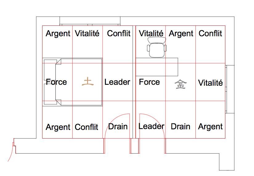 archido architecture feng shui gen ve. Black Bedroom Furniture Sets. Home Design Ideas